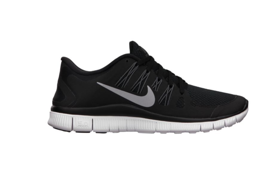 new style b803a 39b85 NIB Women's Nike Free 5.0 Plus Running Shoe 580591 002 Black