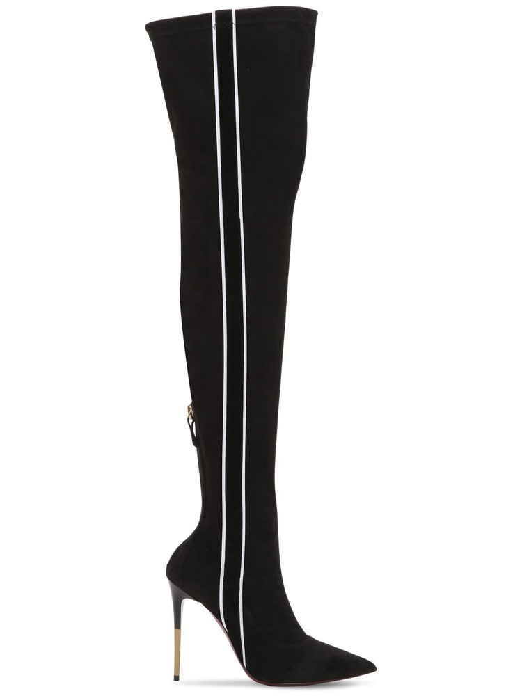ERNESTO ESPOSITO 105mm Stretch Over The Knee Boots in black
