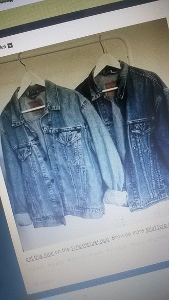 coat denim jacket large jacket