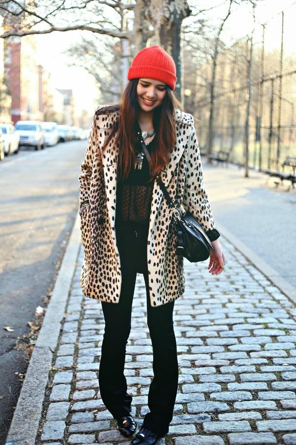 color me nana jeans coat blouse bag hat jewels
