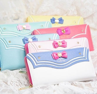 bag seeet cartoon sailor zipper  wallet