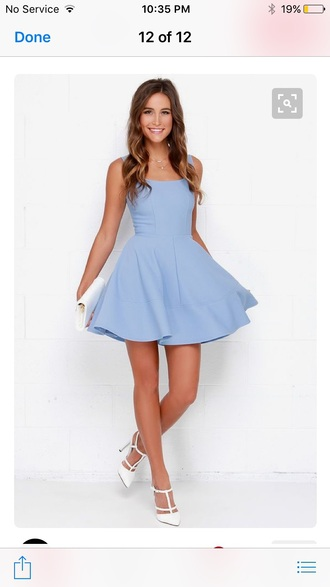 dress light blue