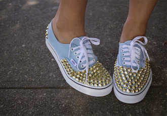 shoes vans rivet authentic studded vans