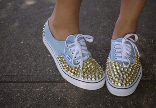 shoes vans rivet vans sneakers authentic studded vans