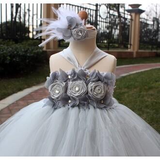 grey dress grey flower girl dress flower girl dresses discount