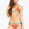 Lovelysally — watermelon lovelysally triangle bikini top