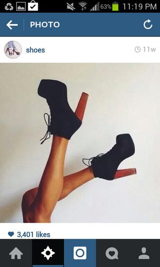 pumps platform shoes