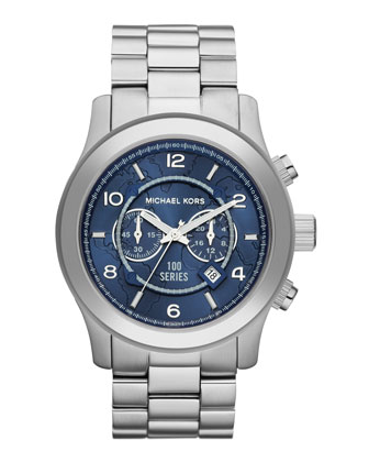 Michael Kors Watch Hunger Stop Oversized 100 Series Watch - Michael Kors