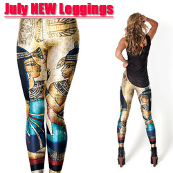 Online Shop Women Digital Printed Pants Black Milk Vintage Egypt Pharaoh Leggings Brand Clothes For Womans|Aliexpress Mobile