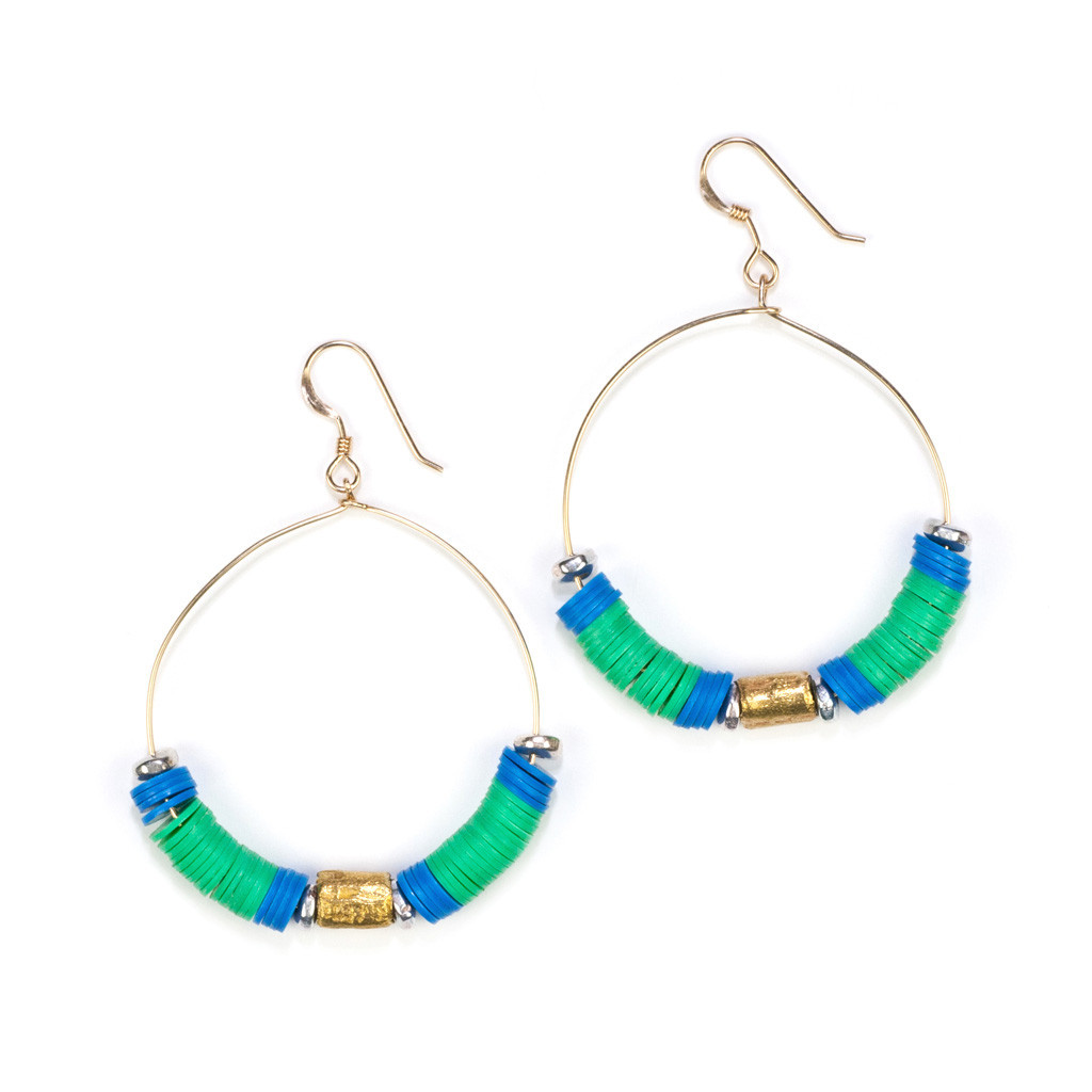 JAMAICAN FEVER - Green | Katie Dean Jewelry