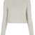 Knitted Fluffy Crop Jumper- Topshop