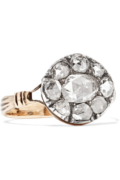 Fred Leighton diamond ring ring gold silver jewels