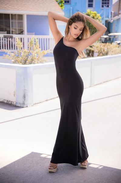 Jaded & Braided Maxi Dress