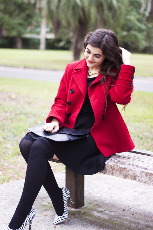 a walk in the park dress coat shoes bag