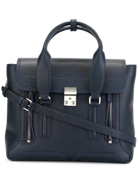 3.1 Phillip Lim - medium 'Pashli' satchel - women - Leather - One Size, Blue, Leather