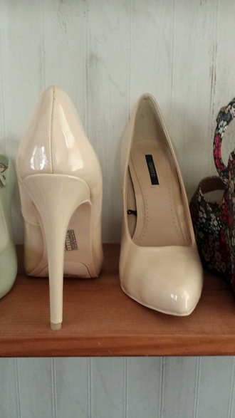 shoes high heels cute high heels heels nude pumps sexy pumps pumps nude heels cream high heels forever 21 shoes forever 21