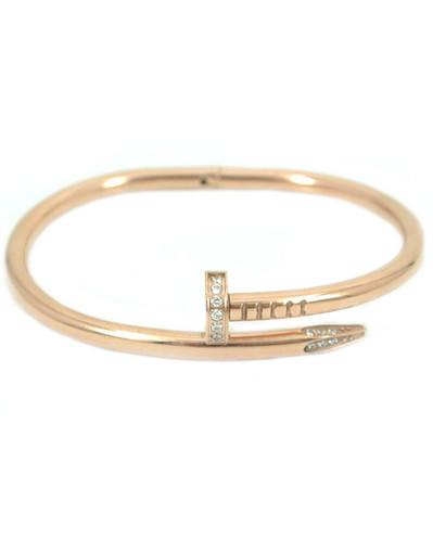 Crystal love bangles jewelry bracelets