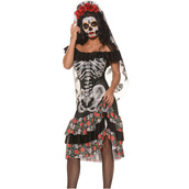 dress,costume,halloween,halloween costume,skeleton,skeleton dress,scary costume