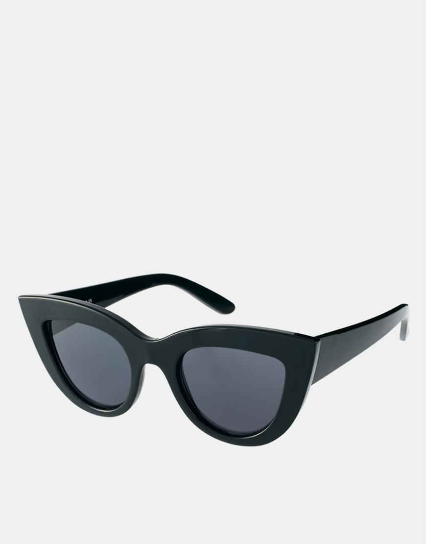 ASOS Flat Top Cat Eye Sunglasses at asos.com