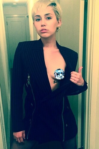 jacket blazer miley cyrus instagram