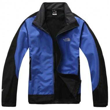 Blue The North Face Mens Windstopper Jacket Bj130039