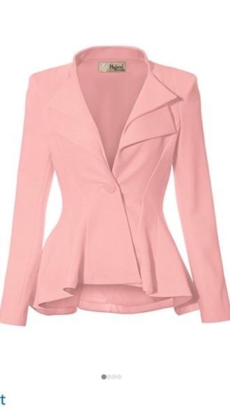jacket blush light pink pink