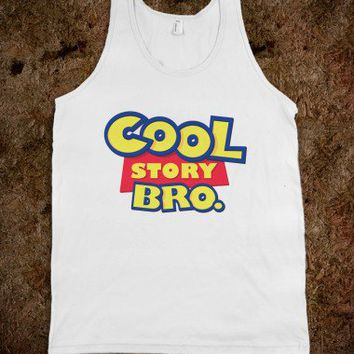 Cool Story Bro Tank on Wanelo