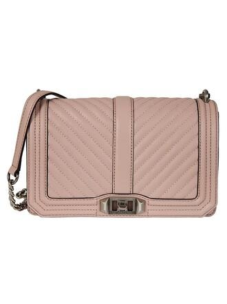 love quilted bag shoulder bag