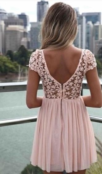 dress pretty cute pink dress girl flowers