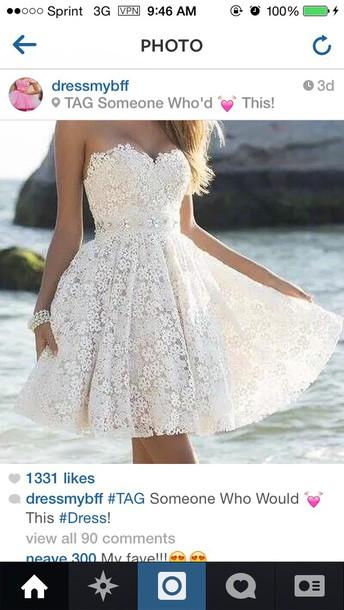 floral dress dress white dress floral dress wedding dress bridemaid short dress lace dress