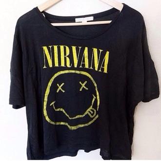 shirt nirvana t-shirt nirvana
