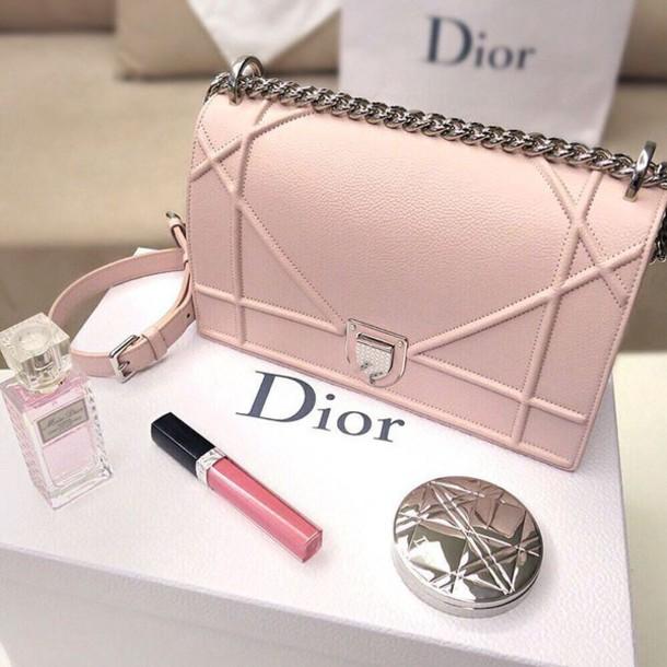 4c15335e2e79 bag dior diorama bag dior bag pink bag lipstick