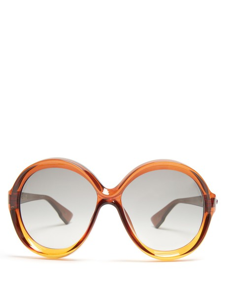 dior sunglasses brown