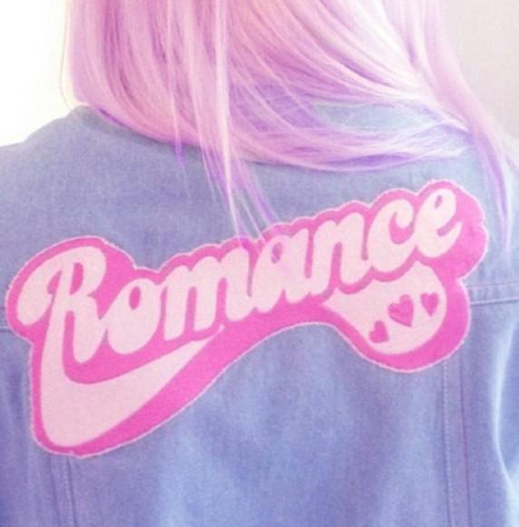 pastel kawaii pastel goth jacket jean jacket gyaru patches patch punk