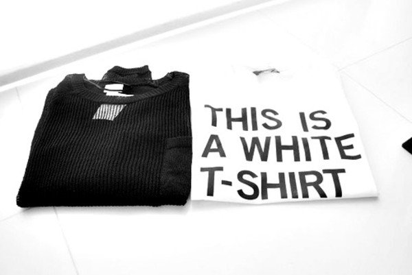 t-shirt white print this is a white t shirt sweater black