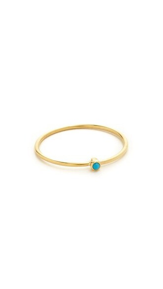 ring gold turquoise jewels