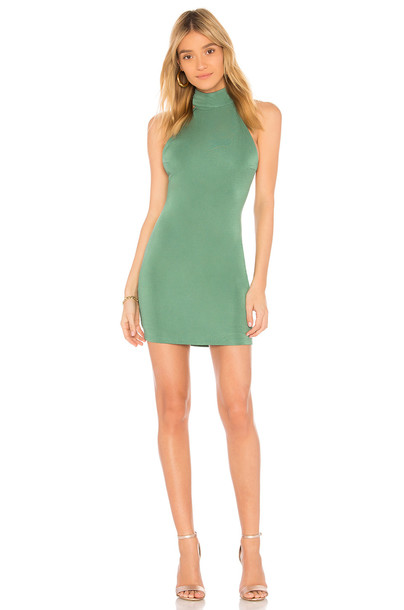 CAPULET dress green