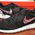 Nike Roshe Run Black White Rose Garden Batch Floral Print Custom Men & Womens