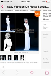 dress,dress white long evening pretty backless,white,long,long dress,prom,evening outfits,event,gown,beautiful