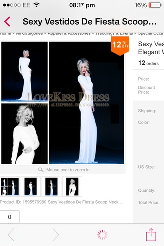 dress dress white long evening pretty backless white long long dress prom evening outfits event gown beautiful