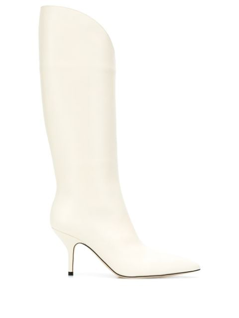 Magda Butrym slip-on Style knee-high Boots - Farfetch