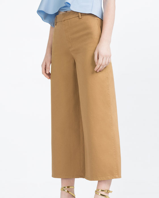 CULOTTES - View All-TROUSERS-WOMAN-SALE | ZARA United States