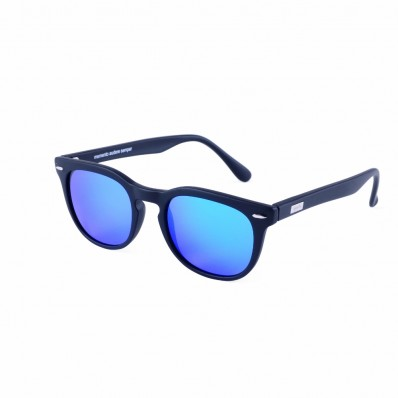 SPEKTRE SUNGLASSES MAS BLACK BLUE MIRRORED | FINAEST