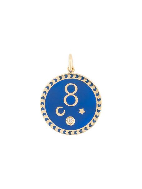 women pendant gold grey metallic jewels