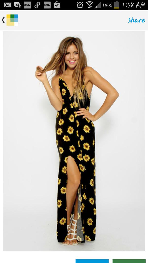 sunflower maxi sunflower maxi dress dress