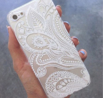 phone cover jewels white case iphone iphone case iphone 5 case accessories iphone gold iphone 5s iphone5/5s\case design pattern clear iphone 6 case white iphone cover iphone casee iphone 6 cover iphone 6 floral case iphone henna case iphone white case cool chic indie