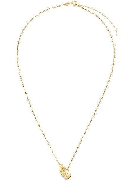 Wouters & Hendrix Gold women necklace gold yellow grey metallic jewels