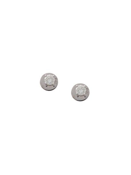 Anita Ko women earrings stud earrings grey metallic jewels