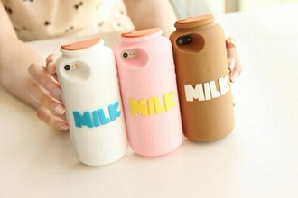 phone cover milk case chocolate milk case strawberry milk case milk iphone cover iphone case milk