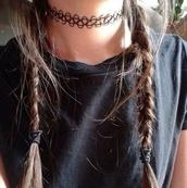 jewels,choker necklace,tattoo choker,charm choker,necklace,grunge,grunge jewelry